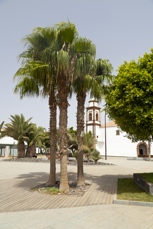 The church of Antigua, Fuerteventura.