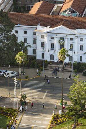 Nairobi, Kenya - December 23: City Hall of Nairobi, Kenya on December 23, 2015