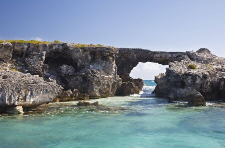 Hell's Gate in the north of Antigua.