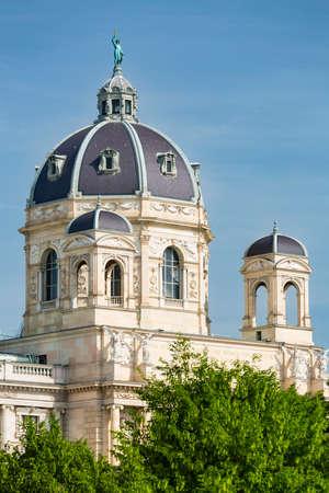 The Naturhistorisches Museum (Natural History Museum) in Vienna, Austria.