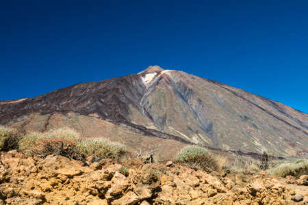 The Pico del Teide in the caldera of Tenerife, Spain.