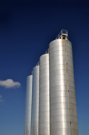storage in a silo in the food industry