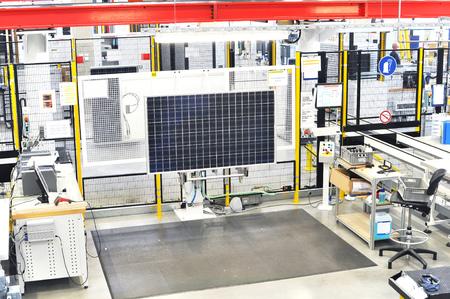 quality control high tech factory  quality control solar module