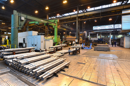 industrial production of shafts for heavy industry Zdjęcie Seryjne