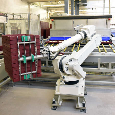 industrial production of bakery products on an assembly line - technology and machinery in the food factory Reklamní fotografie