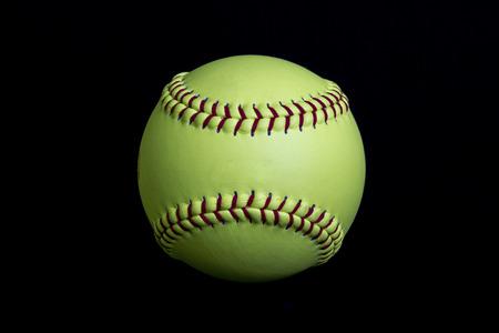 fastpitch: Yellow Softball