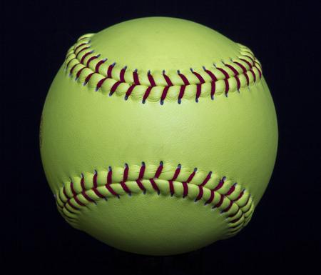 Fastpitch Yellow Softball