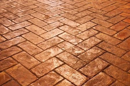 Tiled floor Stock Photo