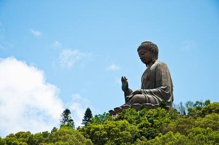 Giant buddha Stock Photo