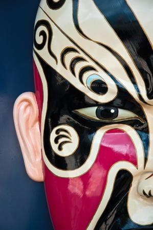 A Traditional chinese opera mask photo