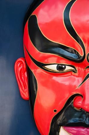 A Traditional chinese opera mask