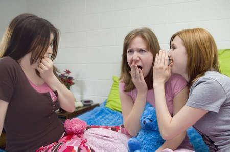 hottie: Slumber party gossip.