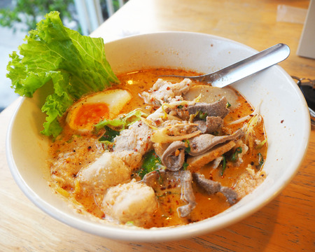 spicy: Spicy noodles
