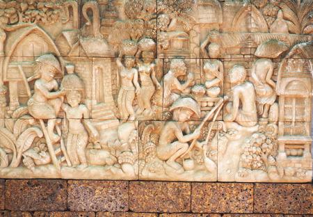 thai believe: Thai art wall