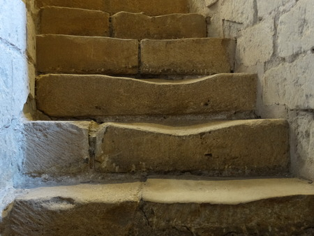 Worn Out Stone Stair Steps Stock Photo, Picture And Royalty Free Image.  Image 31283530.