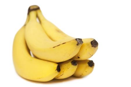 Close up of banana bunch  soft focus  photo