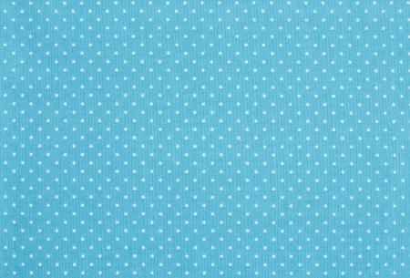 pattern pois: Tessuto blu chiaro con modello bianco a pois