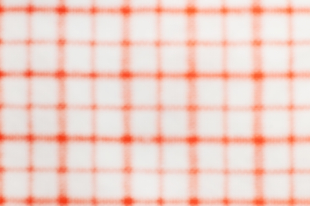 orange and white checkered style texture wallpaper, defocused photo