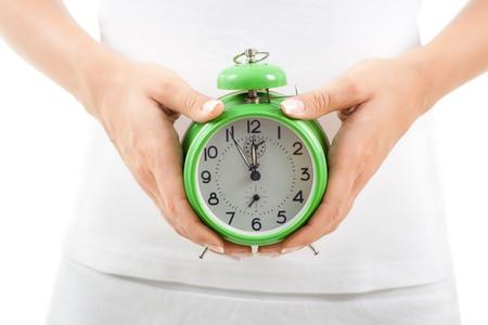生物時計 写真素材