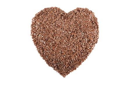 Brown flax seed Stock Photo - 15657575
