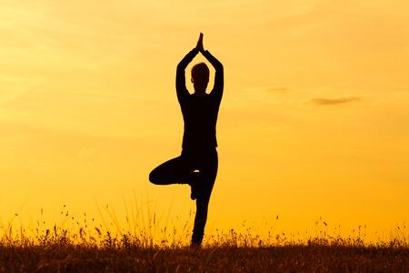 Yoga-Tree pose Vrikshasana