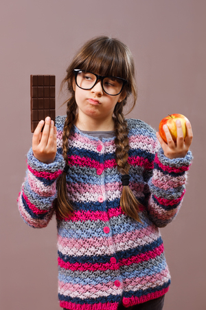 would: I would rather eat chocolate !