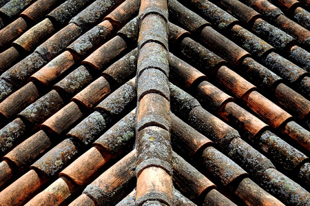 tiles on the roof photo