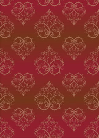 Brown seamless a pattern. Vector illustration Stock Vector - 3799245