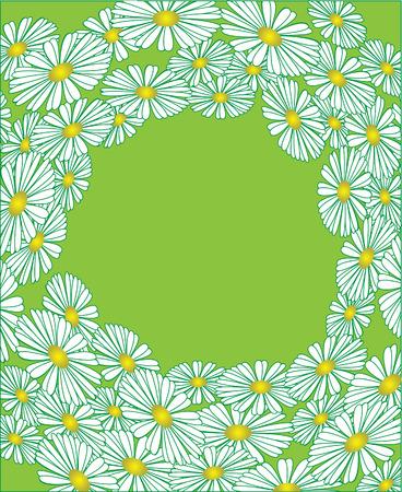 The flower sample. Vector illustration Vector