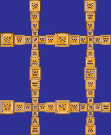 Seamless pattern. Vector illustration Vector