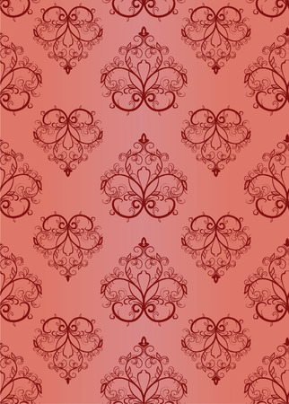 Seamless a pattern. Vector illustration Stock Vector - 3799244