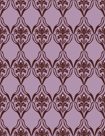 Brown seamless a pattern. Vector illustration Stock Vector - 3799240