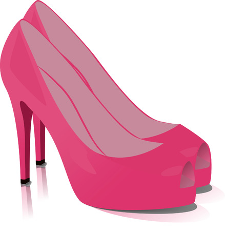 Shoes. Vector illustration