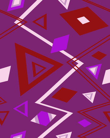The sample of a background with triangles. Vector illustration Stock Vector - 3799183