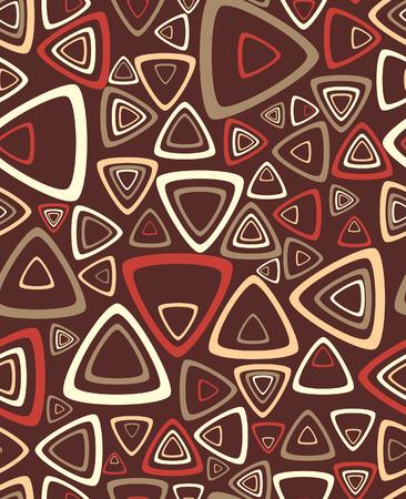 manic: Il campione di uno sfondo con triangoli. Vector illustration