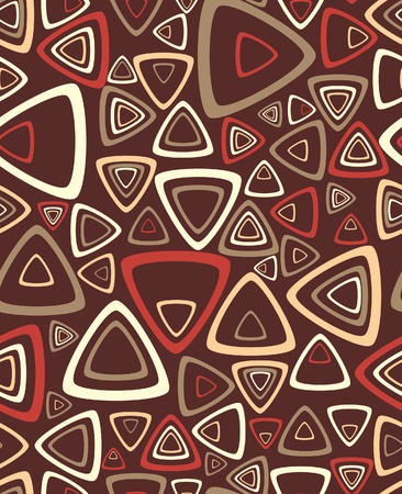 geometrical: The sample of a background with triangles. Vector illustration Illustration