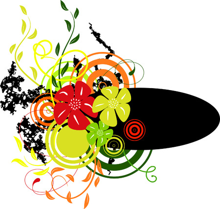 Banner with colors1. Vector illustration Vector