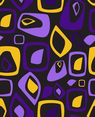 quadratic: Elegante fondo amarillo-violeta. Ilustraci�n vectorial