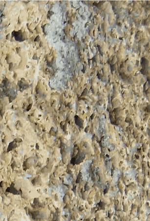 stone work: Una estructura de piedra natural. Ilustraci�n vectorial