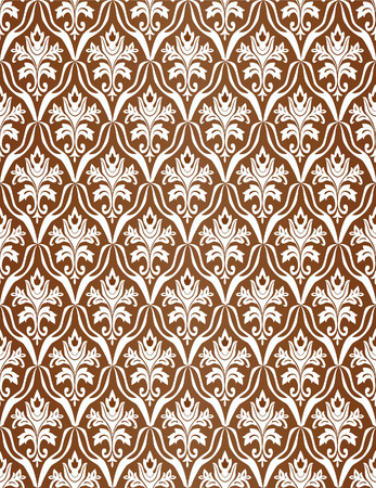 Brown seamless a pattern. Vector illustration Stock Vector - 3806336