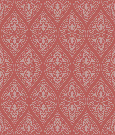Red seamless a pattern. Vector illustration Vector