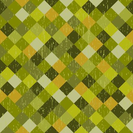 Grunge green background of vertical strips Vector