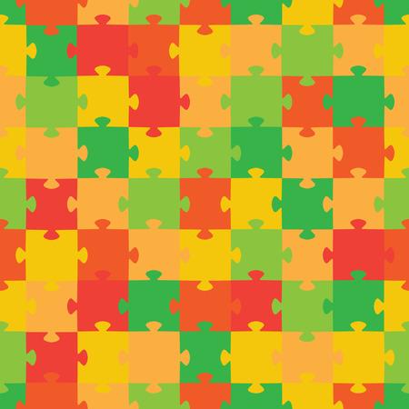 Puzzle. Vector illustration Vector