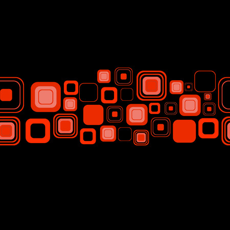manic: Seamless orizzontale. Vector illustration