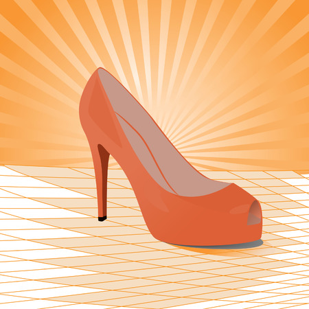 Shoes. Vector illustration Vector