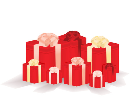Gift boxes. Vector illustration  Vector