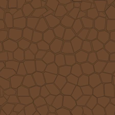 Stone blocks structure. Vector illustration Vector