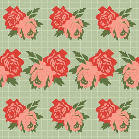 Flower sample. Vector illustration Vector
