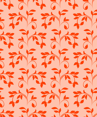 Red seamless pattern. Vector illustration Vector