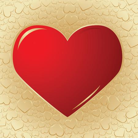 Valentine background. Vector illustration Vector